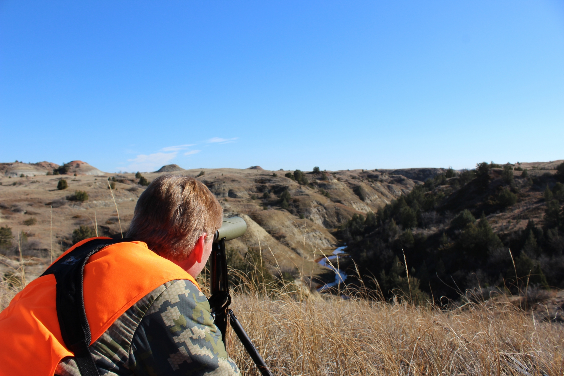 Glassing for Mule Deer on the Prairie
