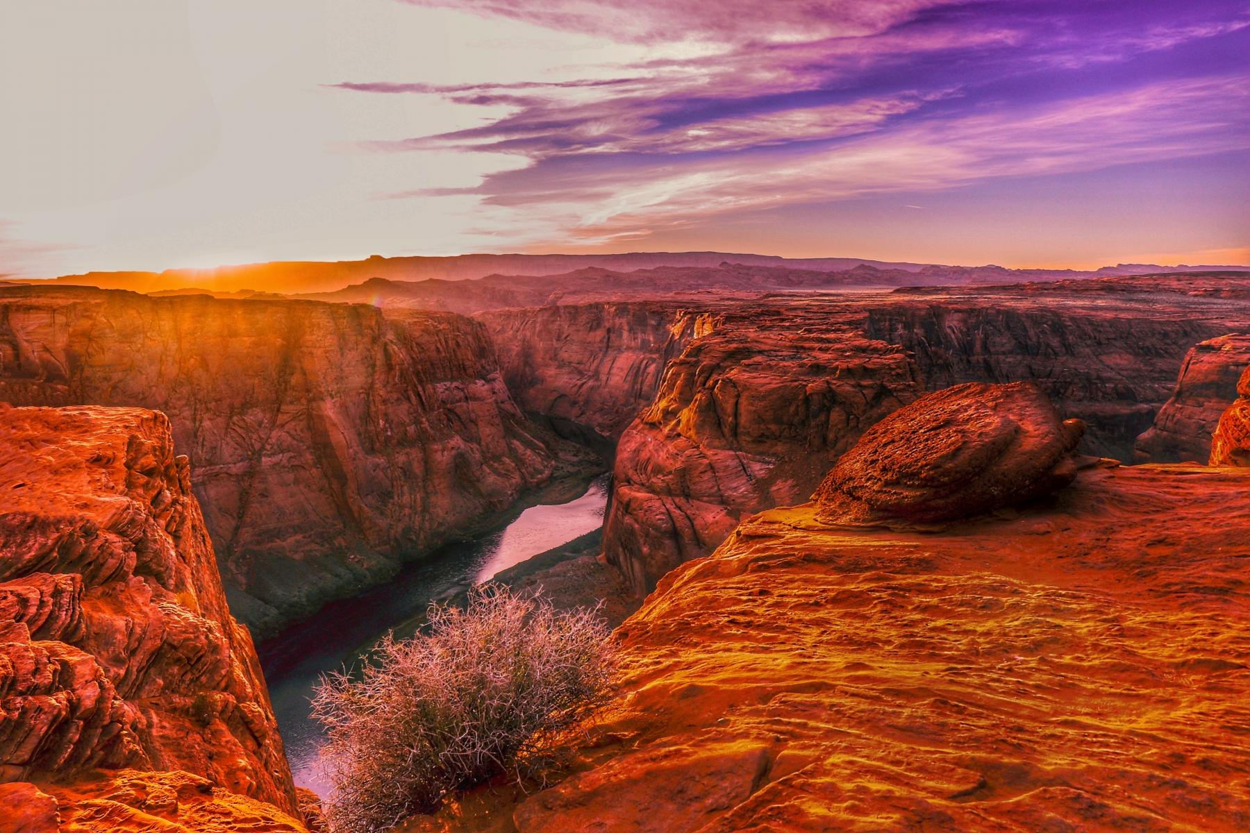 The Colorado River Providing Life in a Desolate Desert