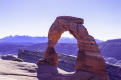 Delicate Arch Fully Illuminated