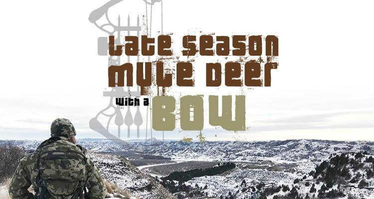 Late Season Mule Deer with a Bow