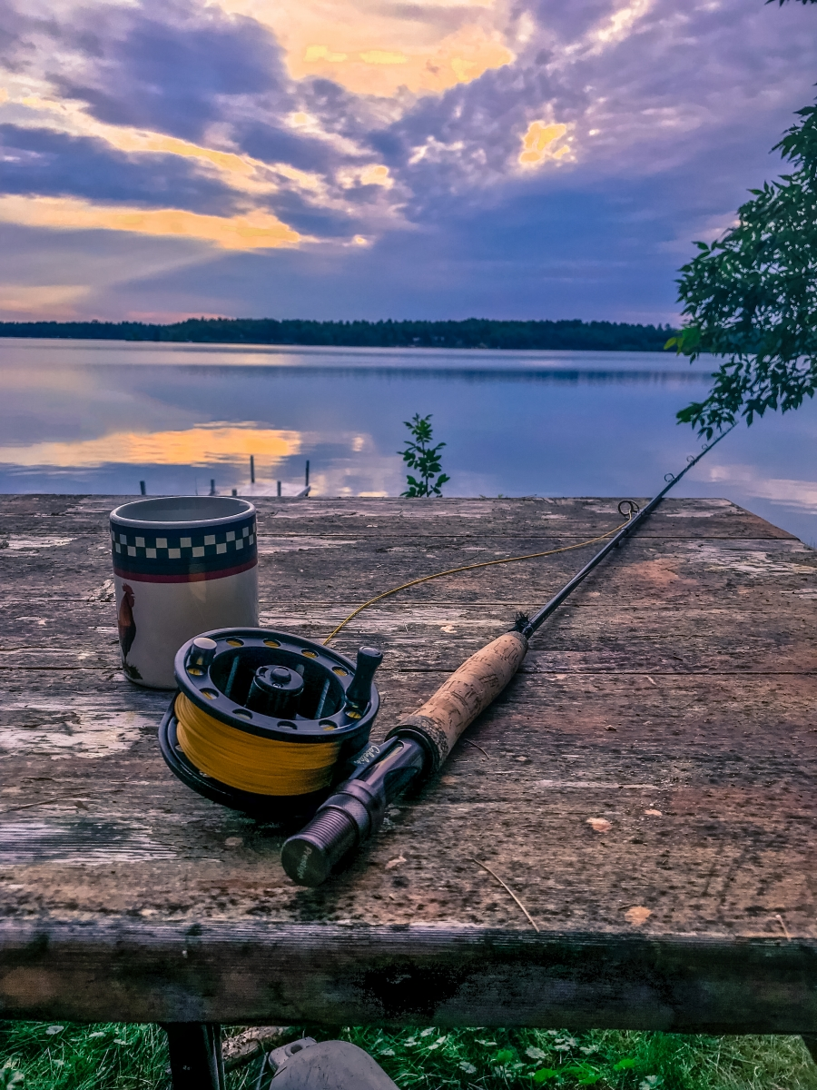 Fly Fishing Morning in the Northwoods of Minnesota